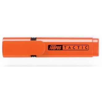 Маркер текстовой TACTIC скош. 2-5мм, оранжевый - Officedom (1)