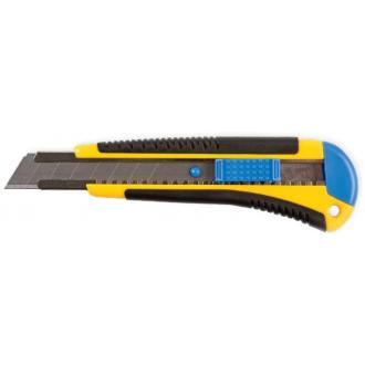 Нож канцелярский профес. 18мм с рез. вставками - Officedom (1)