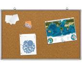 Доска настенная пробковая 60 х 90см, в алюм. рамке | OfficeDom.kz
