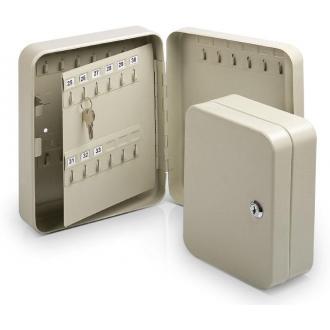 Ящик на 20 ключей с замком, серый - Officedom (1)