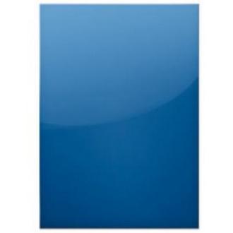 Обложка д/<wbr>перепл. пласт. А4, 200мкн, 100шт, пр-син - Officedom (1)