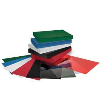 Обложка д/<wbr>перепл. карт. А4, 200гр, 100шт, синий - Officedom (1)