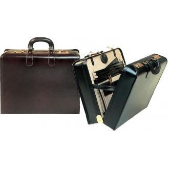 """Кейс """"London"""" из натуральной кожи, коричневый - Officedom (1)"""