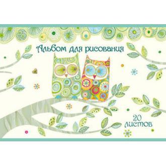 "Альбом для рисования ""Turnowsky"", А4, 20л., на скобе (TW2-EAC) - Officedom (1)"
