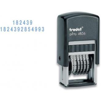 Мини-нумератор 4836 6-разрядный, 3мм - Officedom (1)