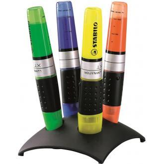 Набор маркеров текстовых наливных Stabilo Luminator, 4цв., с подставкой (7104-2) - Officedom (1)