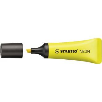 Маркер текстовый Stabilo NEON, 2-5мм, желтый (72/<wbr>24) - Officedom (1)