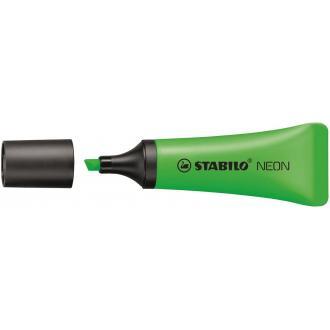 Маркер текстовый Stabilo NEON, 2-5мм, зеленый (72/<wbr>33) - Officedom (1)