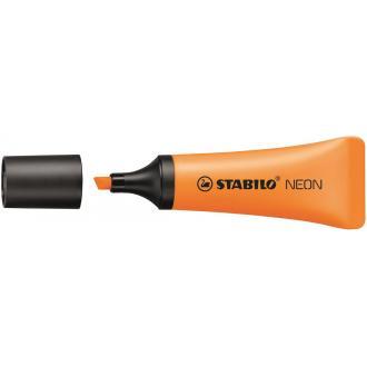 Маркер текстовый Stabilo NEON, 2-5мм, оранжевый (72/<wbr>54) - Officedom (1)