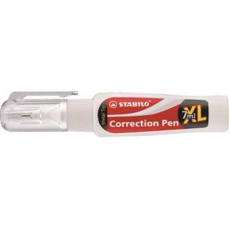 Корректирующая ручка Stabilo Swan white, 7мл (888PSBL) - Officedom (1)
