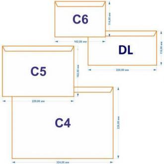 Конверт С65 114х229мм с отр. полосой, по длинной стороне, 80 г/<wbr>м2, окно 45х90 мм, белый - Officedom (1)