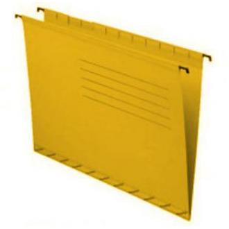 Папка подвесная для бумаг А4+, желтый - Officedom (1)