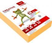 Бумага KRIS Медиум 80гр, А4, 500л, оранжевый | OfficeDom.kz