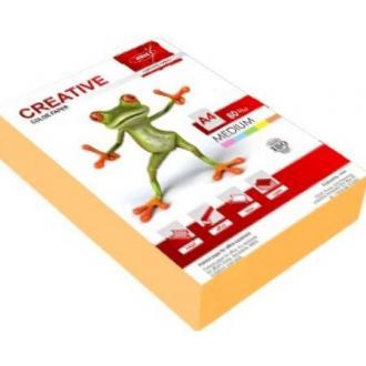 Бумага KRIS Медиум 80гр, А4, 500л, оранжевый - Officedom (1)
