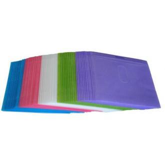 Конверт для диска пластиковый, цветной - Officedom (1)