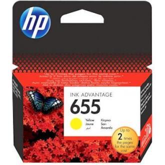 Картридж для струйн. прин. HP DJ IA 3525/<wbr>4615/<wbr>4625/<wbr>5525/<wbr>6525, CZ112AE, №655, желтый - Officedom (1)