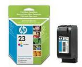 Картридж для струйн. прин. HP С1823GE №23, трехцв.