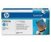 Картридж для принтеров HP Color LaserJet СМ3530/CM3530fs/CP3525dn/CP3525n/CP3525x HP CE251A , гол.