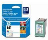 Картридж CB337HE для HP OfficeJet j5783/C4273/C4283/C4383/C5283/D5363 №141, трёхцветный