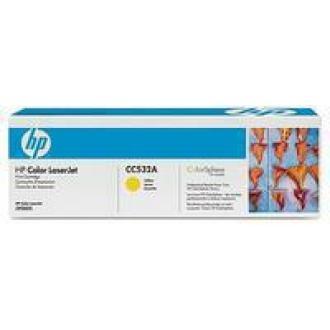 Картридж CC532A для HP Laser Jet CP2025/<wbr>CM2320, желтый - Officedom (1)
