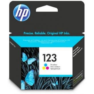 Картридж F6V16AE №123 для HP DeskJet 2130, трехцветный - Officedom (1)