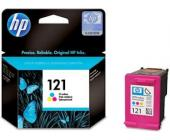 Картридж HP CC643HE для Deskjet F4283/D2563, №121, трехцветный | OfficeDom.kz