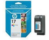 Картридж для струйн. прин. HP DeskJet С6625AE №17