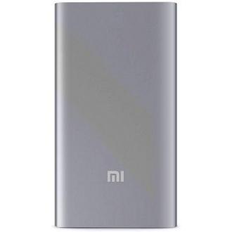 Зарядное устройство портативное Xiaomi Mi Power Bank 5000 mAh, USB, серебро - Officedom (1)