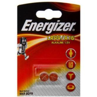 Батарейки Energizer Alkaline, LR44/<wbr>A76, 2 шт/<wbr>уп - Officedom (1)