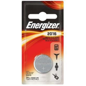 Батарейки Energizer Lithium CR2016, 3V, 1 шт/<wbr>уп - Officedom (1)