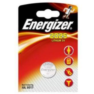 Батарейки Energizer Lithium CR2025, 3V, 1 шт/<wbr>уп - Officedom (1)