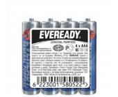 Батарейки Eveready, AAA/<wbr>R03, 4 шт/<wbr>уп, пленка | OfficeDom.kz
