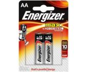 Батарейки Energizer MAX Alkaline, AA/<wbr>LR6, 2 шт/<wbr>уп | OfficeDom.kz