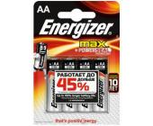 Батарейки Energizer MAX Alkaline, AA/LR6, 4 шт/уп | OfficeDom.kz