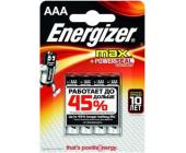 Батарейки Energizer MAX Alkaline, AAA/<wbr>LR03, 4 шт/<wbr>уп | OfficeDom.kz