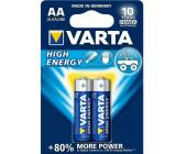 Батарейки Varta High Energy Mignon AA/<wbr>LR6, 2 шт/<wbr>уп
