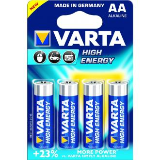 Батарейки Varta High Energy Mignon AA/<wbr>LR6, 4 шт/<wbr>уп - Officedom (1)