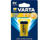 Батарейки Varta Longlife Extra E-Block 9V/6LR61, 1 шт/уп