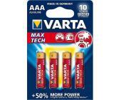 Батарейки Varta Max Tech Micro, AAA/<wbr>LR3, 4 шт/<wbr>уп | OfficeDom.kz