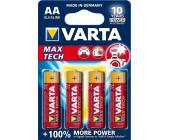 Батарейки Varta Max Tech Mignon, AA/<wbr>LR6, 4 шт/<wbr>уп | OfficeDom.kz
