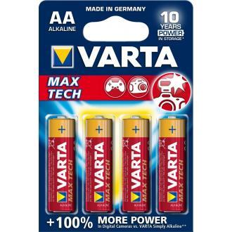 Батарейки Varta Longlife Max Power Mignon, AA/<wbr>LR6, 4 шт/<wbr>уп - Officedom (1)