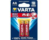 Батарейки Varta Max Tech Mignon, AA/<wbr>LR6, 2 шт/<wbr>уп | OfficeDom.kz