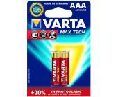 Батарейки Varta Max Tech Micro, AAA/<wbr>LR3, 2 шт/<wbr>уп
