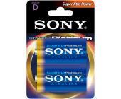 Батарейка Sony Platinum, LR20, D, 2шт/уп. | OfficeDom.kz