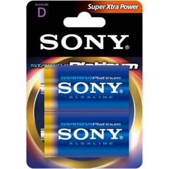 Батарейка Sony Platinum, LR20, D, 2шт/<wbr>уп. - Officedom (1)