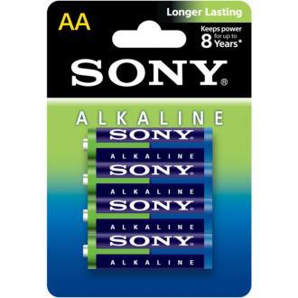Батарейки Sony, AA/<wbr>LR6, 4 шт/<wbr>уп ЭКО - Officedom (1)