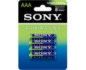 Батарейки Sony, AAA/<wbr>LR3, 4 шт/<wbr>уп ЭКО | OfficeDom.kz