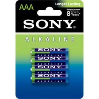 Батарейки Sony, AAA/<wbr>LR3, 4 шт/<wbr>уп ЭКО - Officedom (1)