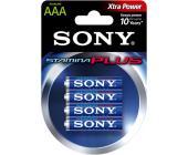 Батарейки Sony, AAA/LR3, 4 шт/уп | OfficeDom.kz