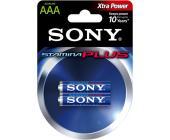 Батарейки Sony, AAA/<wbr>LR3, 2 шт/<wbr>уп | OfficeDom.kz